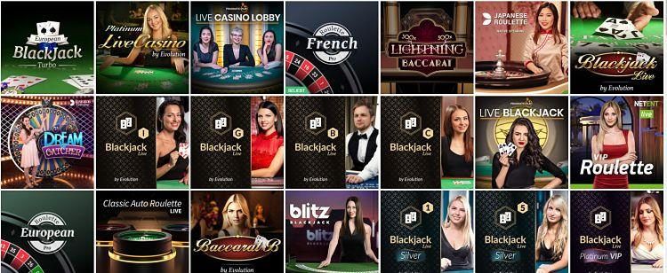 DrückGlück Live Casino